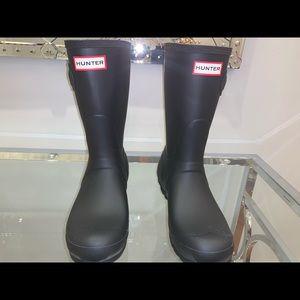 Women's Original Mid Short Black Rain Boots